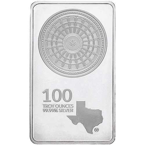 Texas Mint Silver Bar