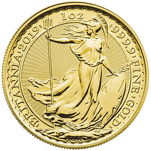 British Gold Britannia coin