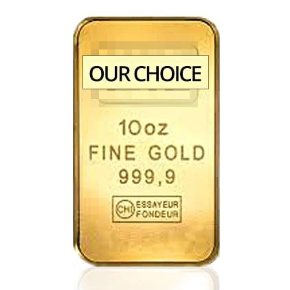 10 oz Gold Bar (Our Choice)