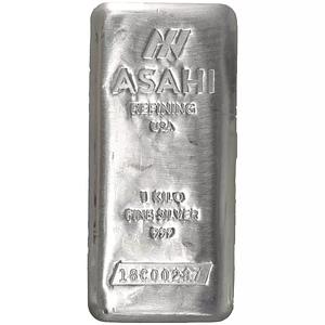 Kilo Asahi Silver Bar