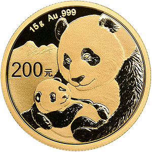 15gram Chinese Gold Coin