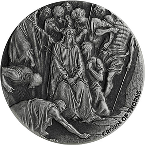 Thorns Biblical Silver Coin