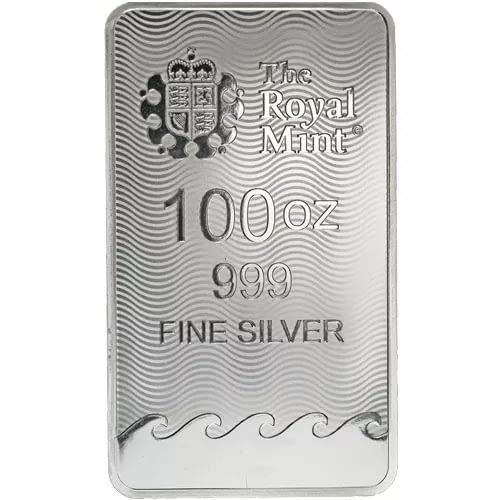 British Silver Britannia Bar