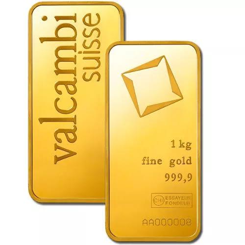 Kilo Valcambi Gold Bar