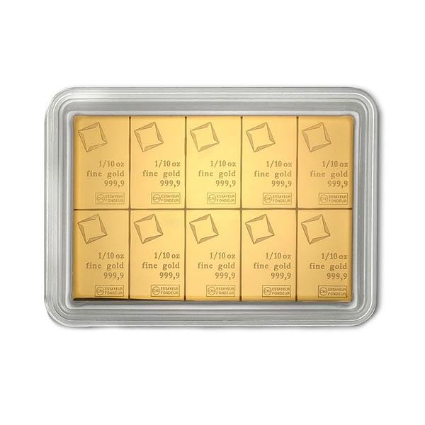 Valcambi CombiBar Gold