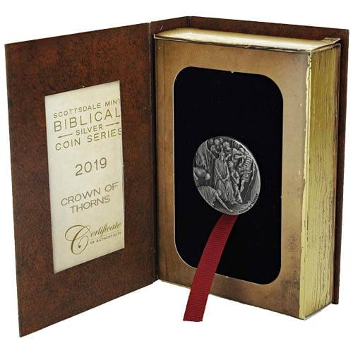 Thorns Biblical Silver Coin