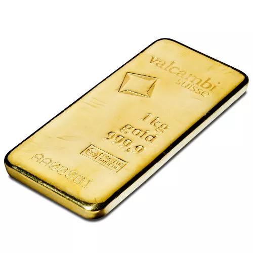 Valcambi Cast Gold Bar